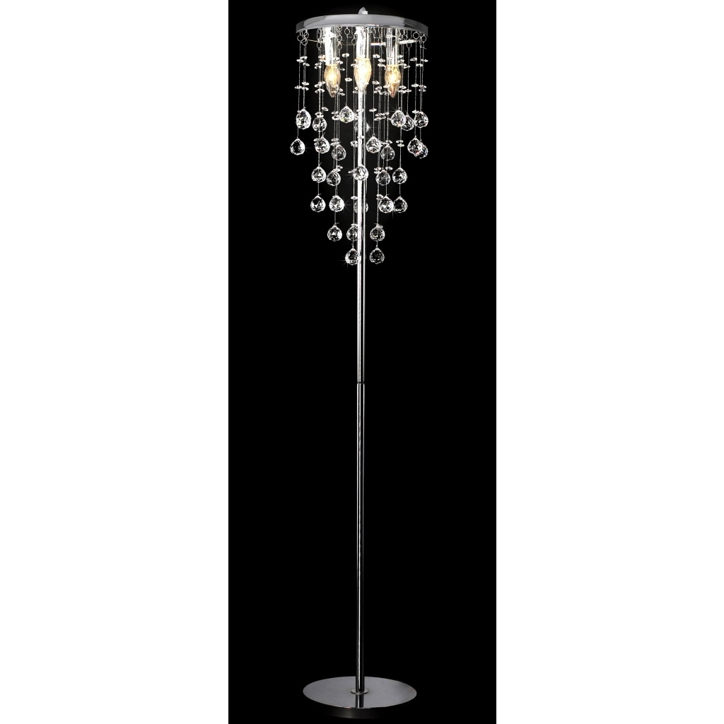 Sorrentos Bistro Home Intended For Standing Chandelier Floor Lamps (View 11 of 15)