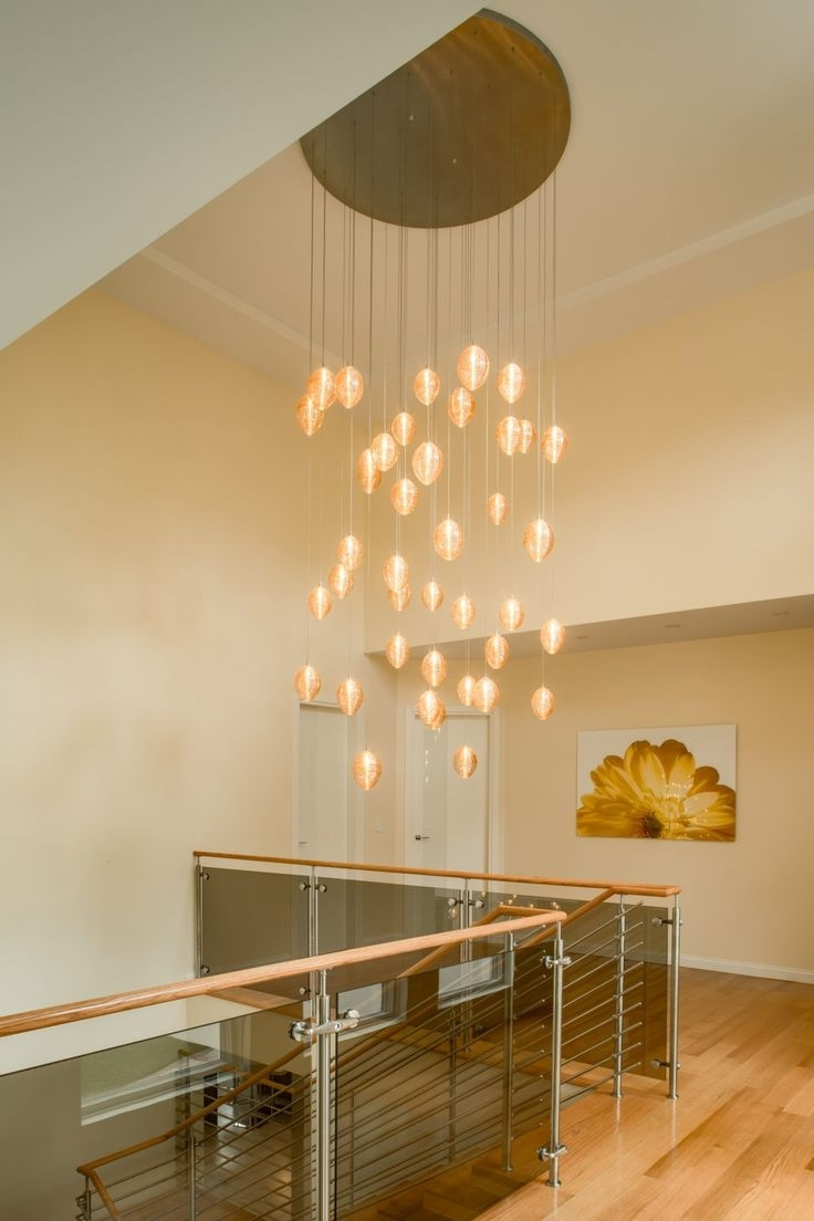Stairwell Chandelier Lighting In Widely Used 25 Best Two Story Chandeliers & Multi Level Chandeliers Images On (View 11 of 15)