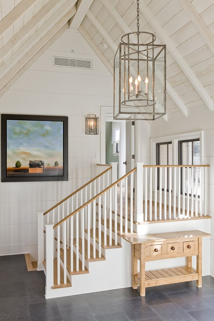 Stairwell Chandelier Lighting With Regard To Fashionable Light Fixture : Lights : Foyer Lighting Low Ceiling Entry Lights (View 9 of 15)