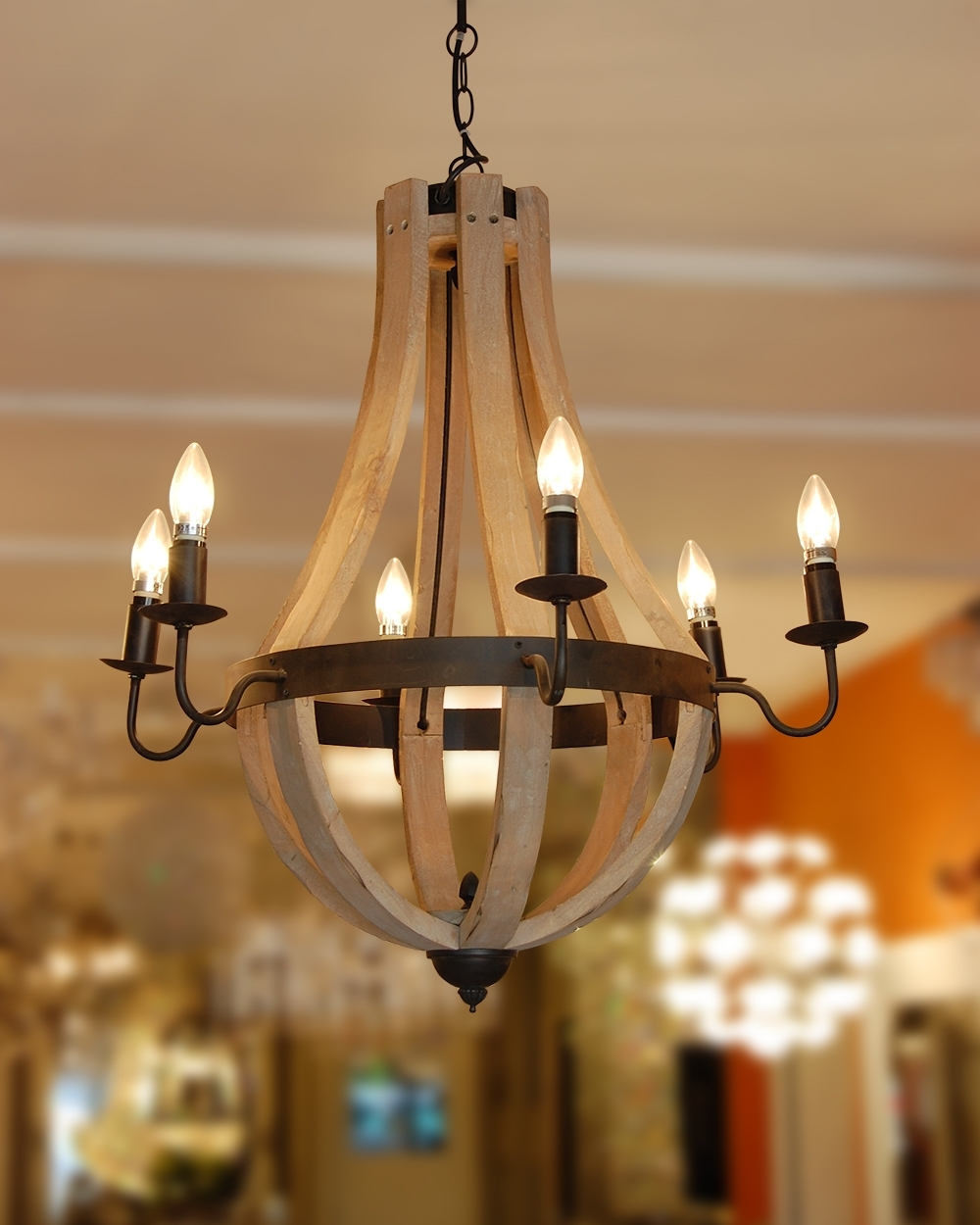 Featured Photo of Wooden Chandeliers