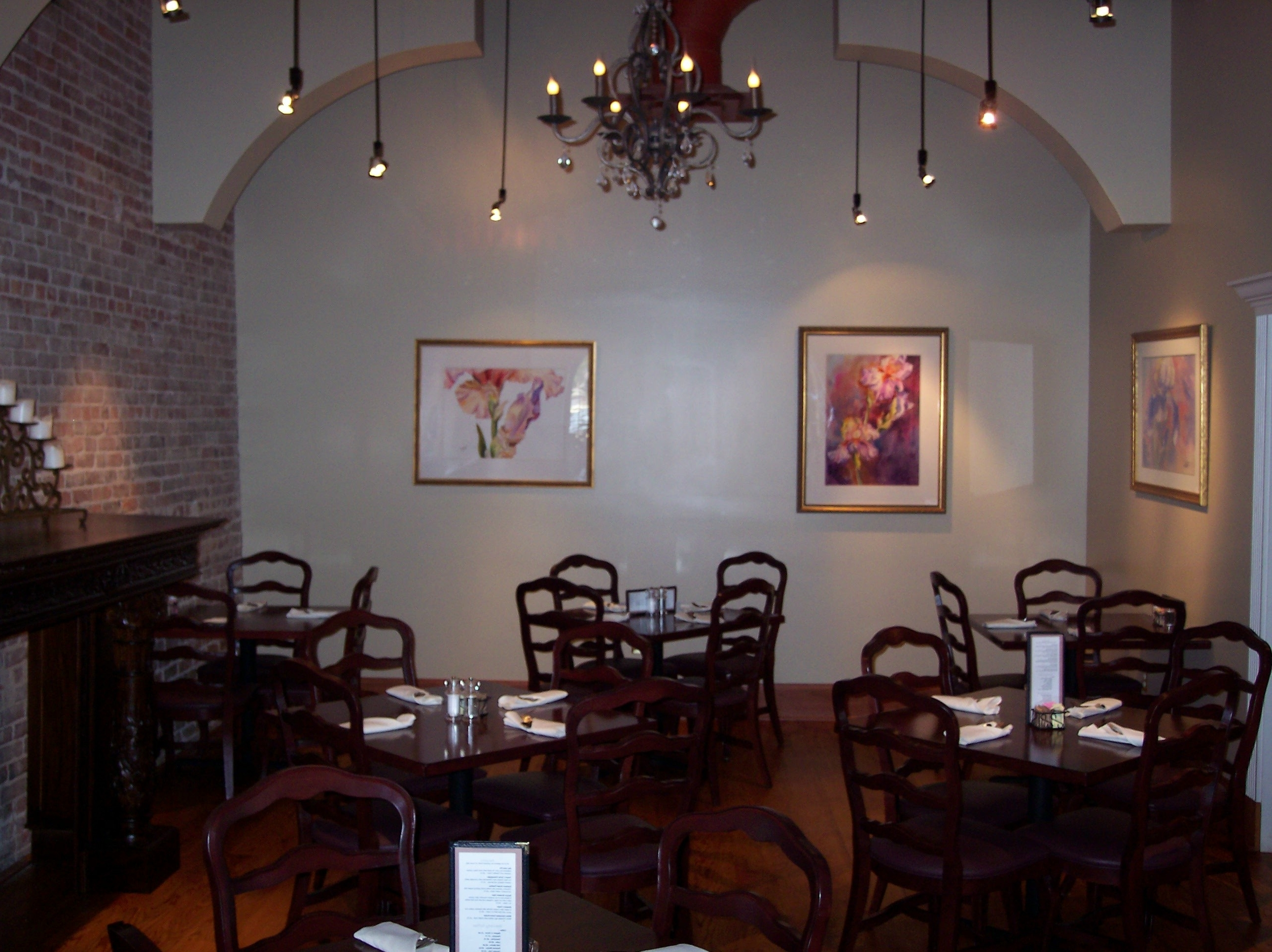 The Chandelier Room – Mike's Place Restaurant – Conway, Arkansas Throughout Best And Newest Restaurant Chandelier (View 8 of 15)