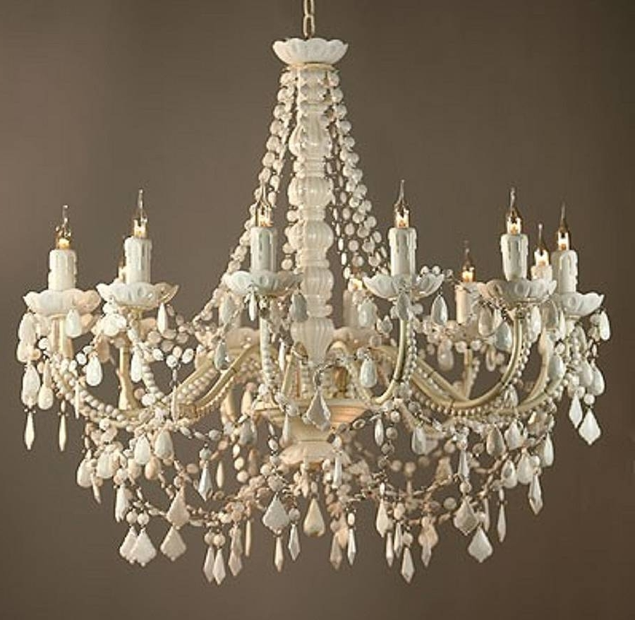 The Marvelous White Chandelier (View 5 of 15)