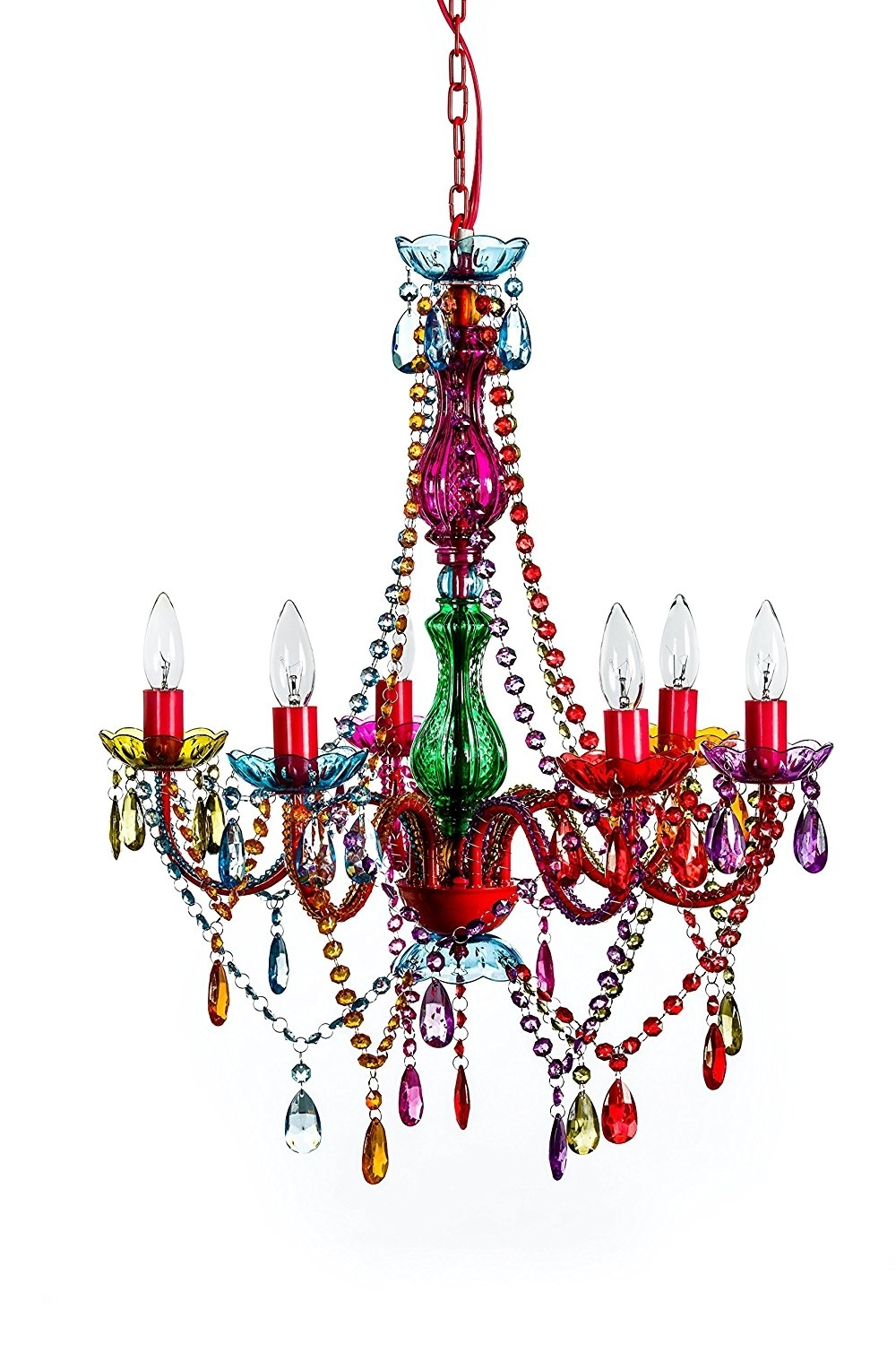 "The Original Gypsy Color 6 Light Large Gypsy Chandelier H26"" W22 For 2018 Gypsy Chandeliers (View 14 of 15)"