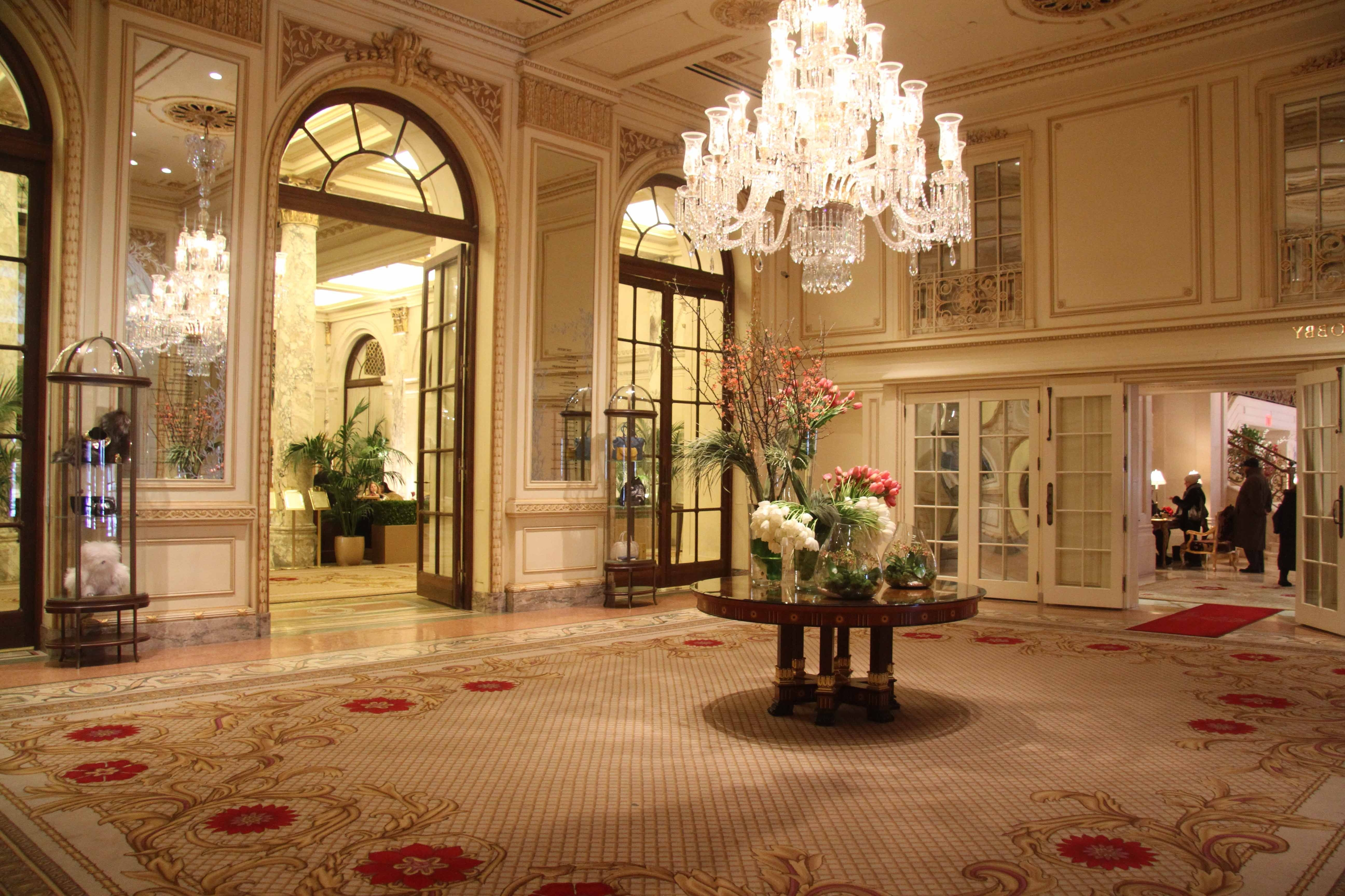 The Plaza' Hotel: The Century's Regarding Latest Hotel Chandelier (View 8 of 15)