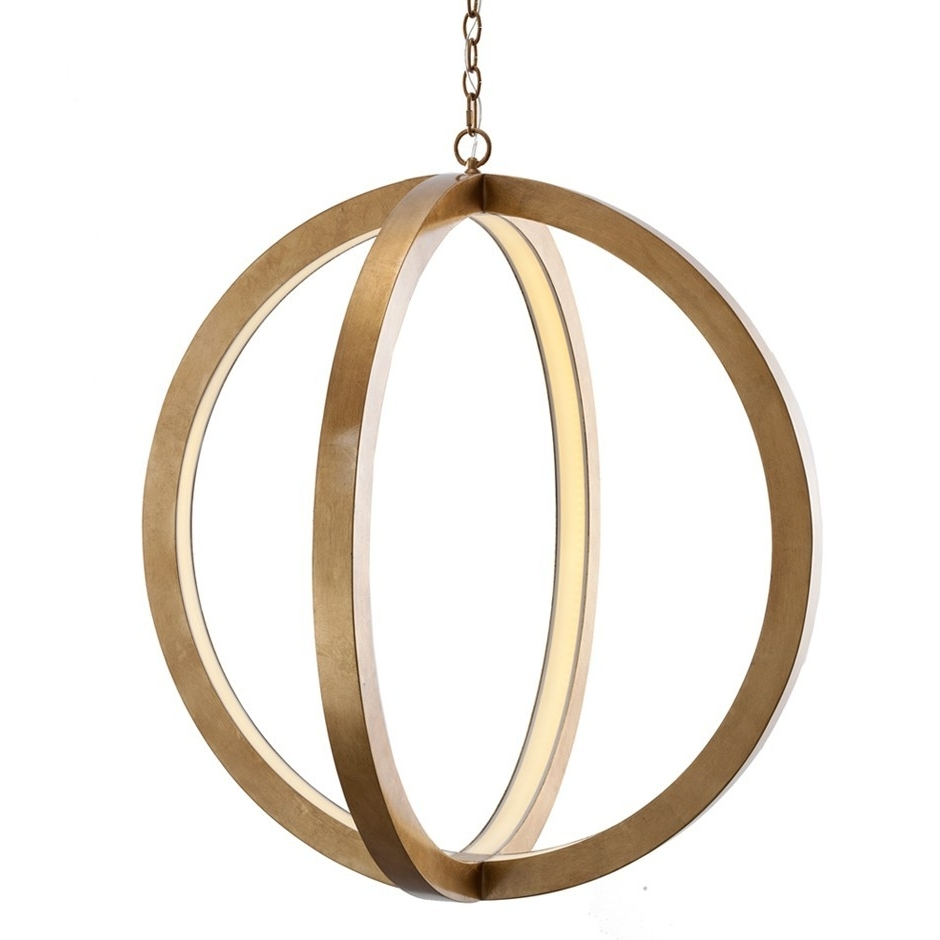 The Well Appointed House – Luxuries For The Home – The Well Within Preferred Sphere Chandelier (View 11 of 15)