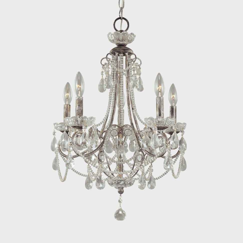 Tiny Chandeliers With Best And Newest Chandeliers : Crystal Chandelier With No Lightsut Faux Triangle Tiny (View 13 of 15)