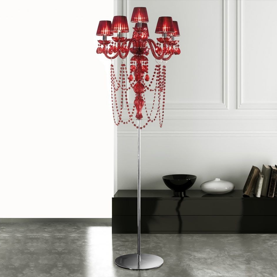 Trendy Faux Crystal Chandelier Table Lamps With Regard To Amazing Glass Chandelier Table Lamp Hanging Lantern Floor Vintage (View 12 of 15)