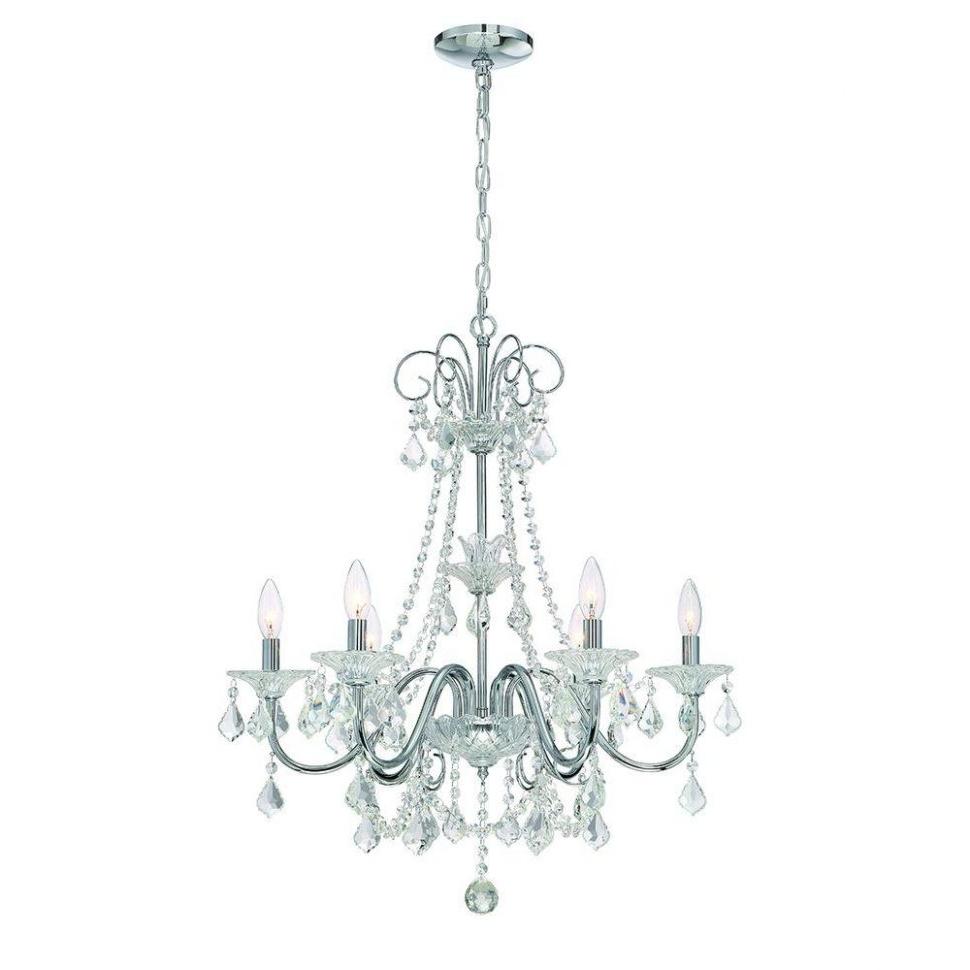 Trendy Lighting : Victorian Crystal Chandelier Round Crystal Chandelier Throughout Lead Crystal Chandeliers (View 14 of 15)