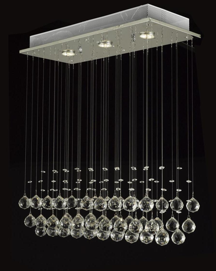 Trendy Modern Light Chandelier For J10 C9074 339 Gallery Modern / Contemporary Raindrop Crystal (View 15 of 15)