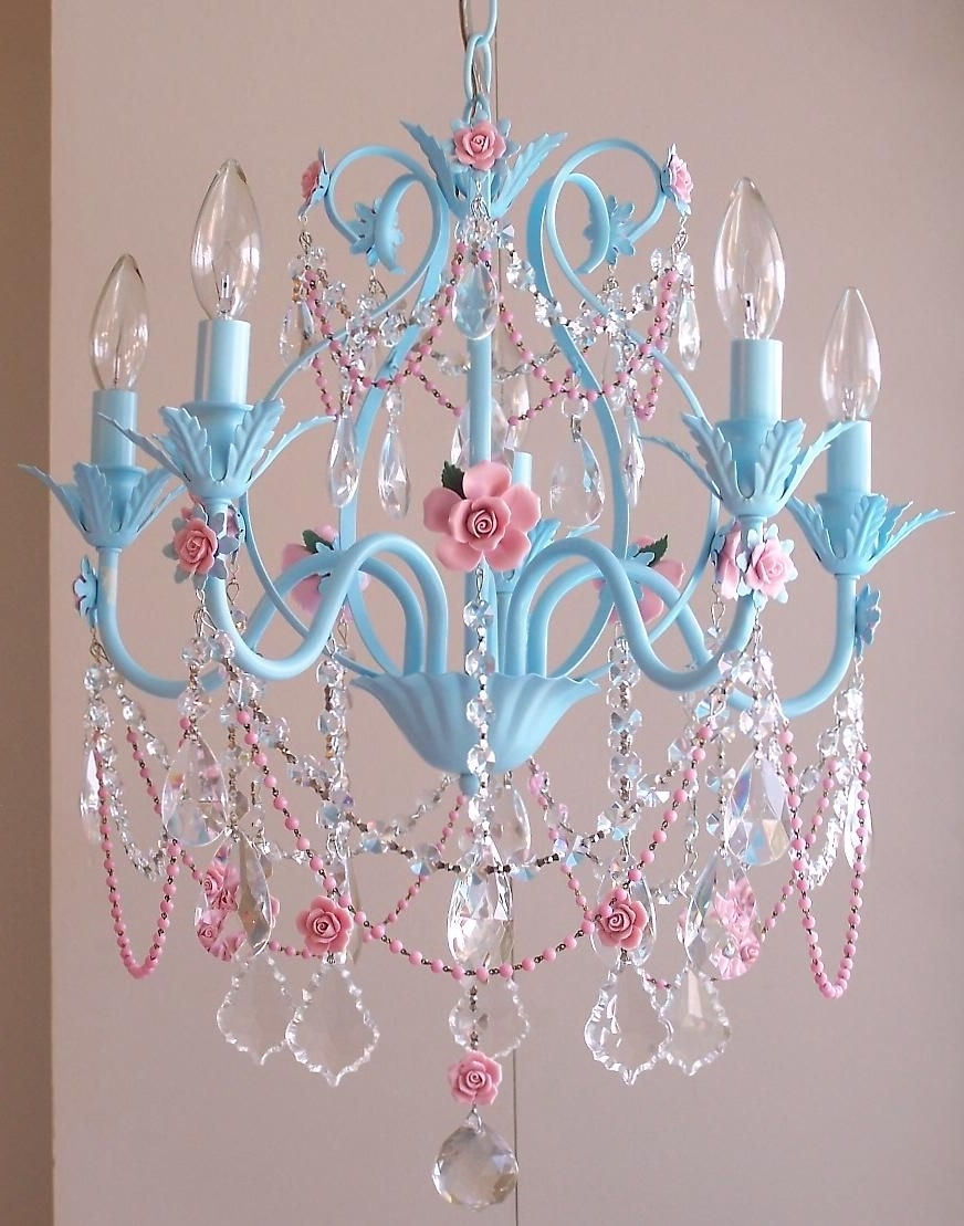 Featured Photo of Turquoise And Pink Chandeliers