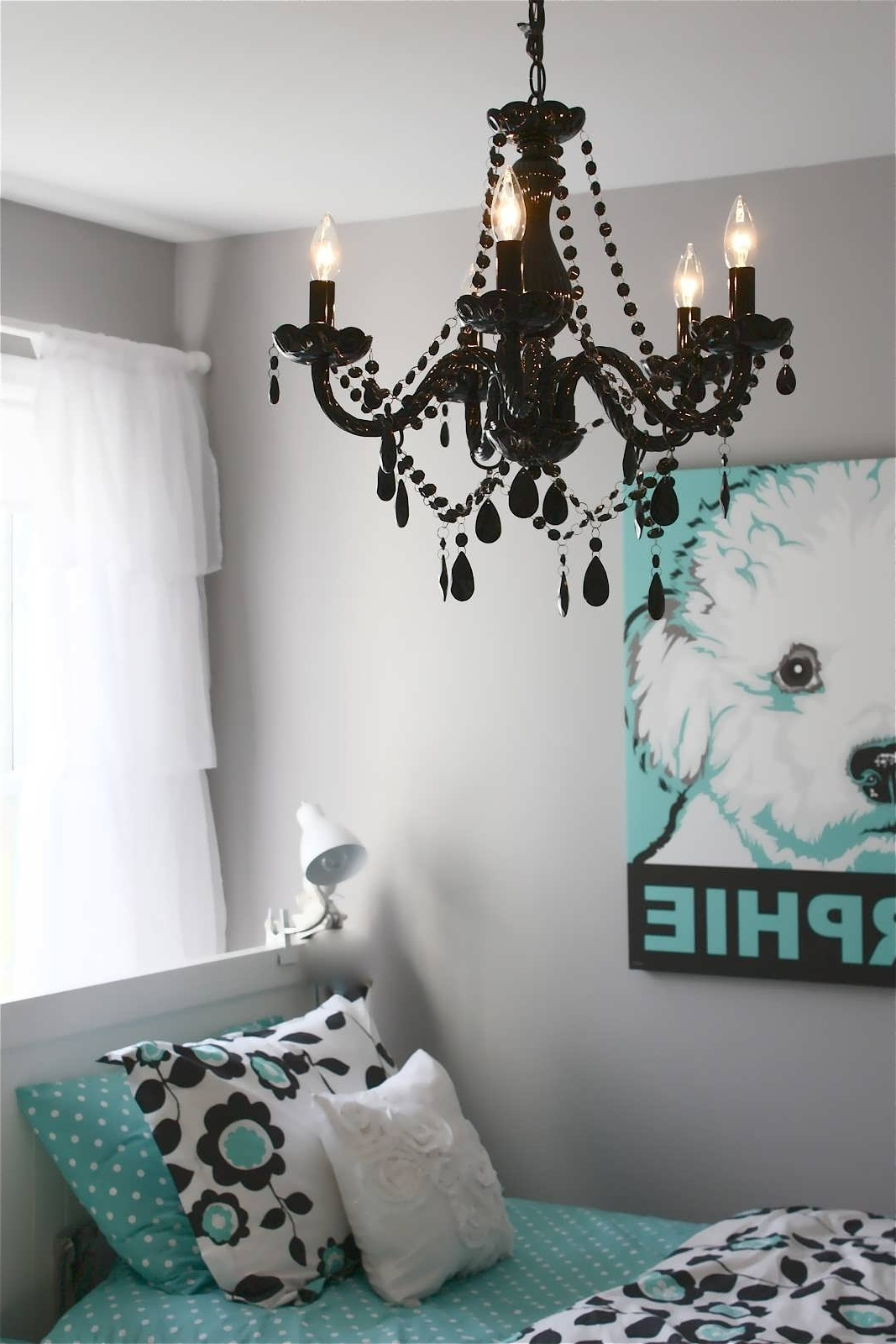 Turquoise Bedroom Chandeliers Intended For Well Known Chandelier : Lindsey Adelman Lighting Childrens Bedroom Lamps (View 4 of 15)
