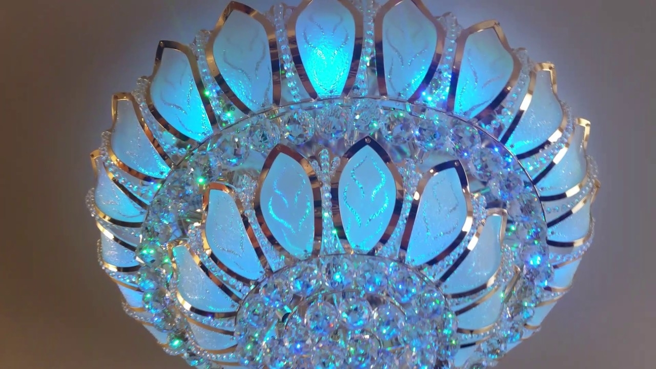 Turquoise Chandelier Crystals With Regard To Most Recent Lighting Store Near Me,swarovski,crystal Chandelier,led Light,led (View 13 of 15)