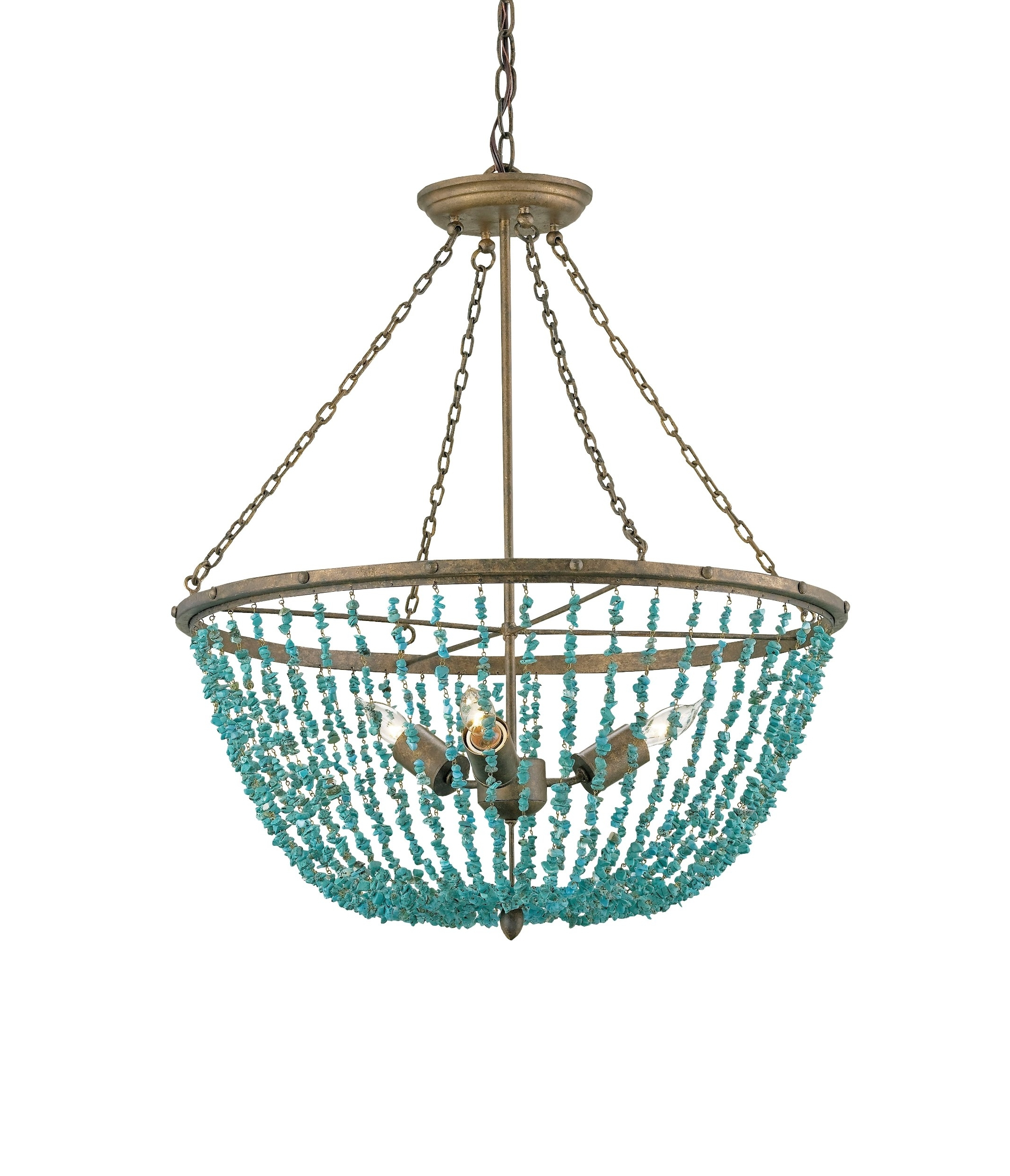 Turquoise Chandelier Lights Regarding Recent Turquoise Chandeliers Lighting – Pixball (View 4 of 15)