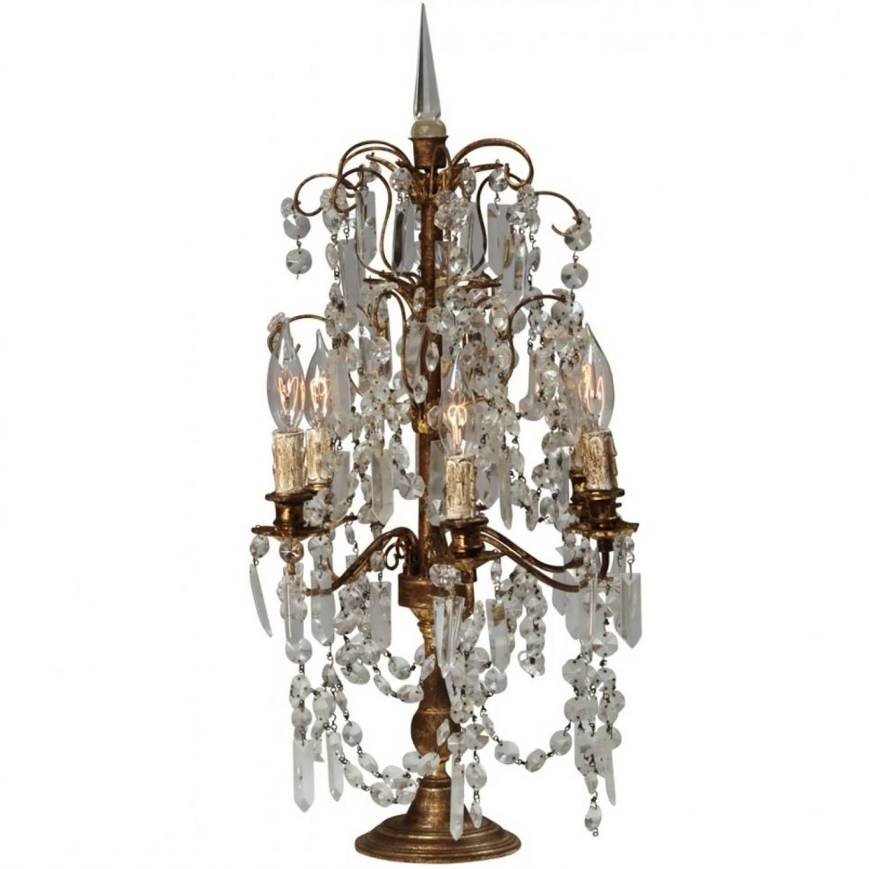 Turquoise Lantern Chandeliers With Popular Chandeliers Design : Marvelous Vintage Crystal Chandelier Table (View 4 of 15)