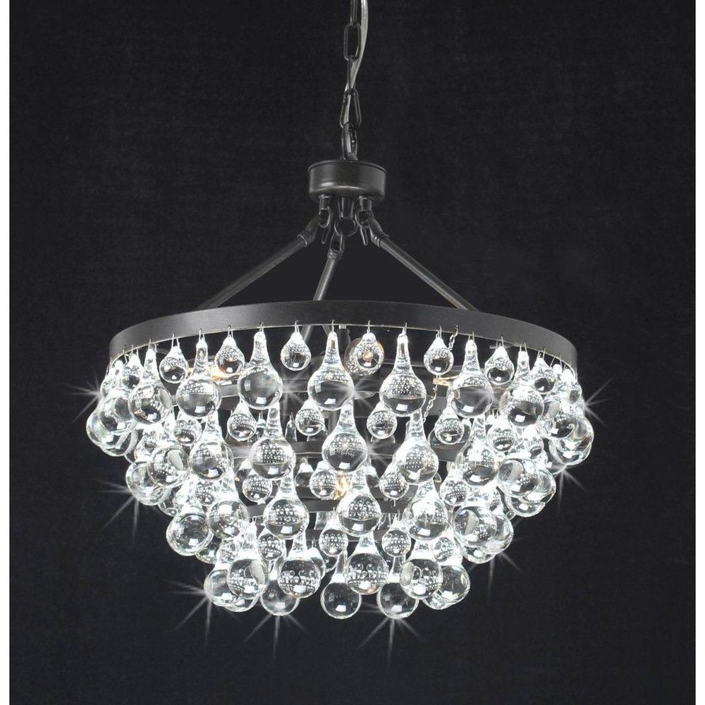 Ultra Modern Chandelier Inside Most Current Living Room : Modern Chandelier Lighting Bohemian Crystal Chandelier (View 11 of 15)