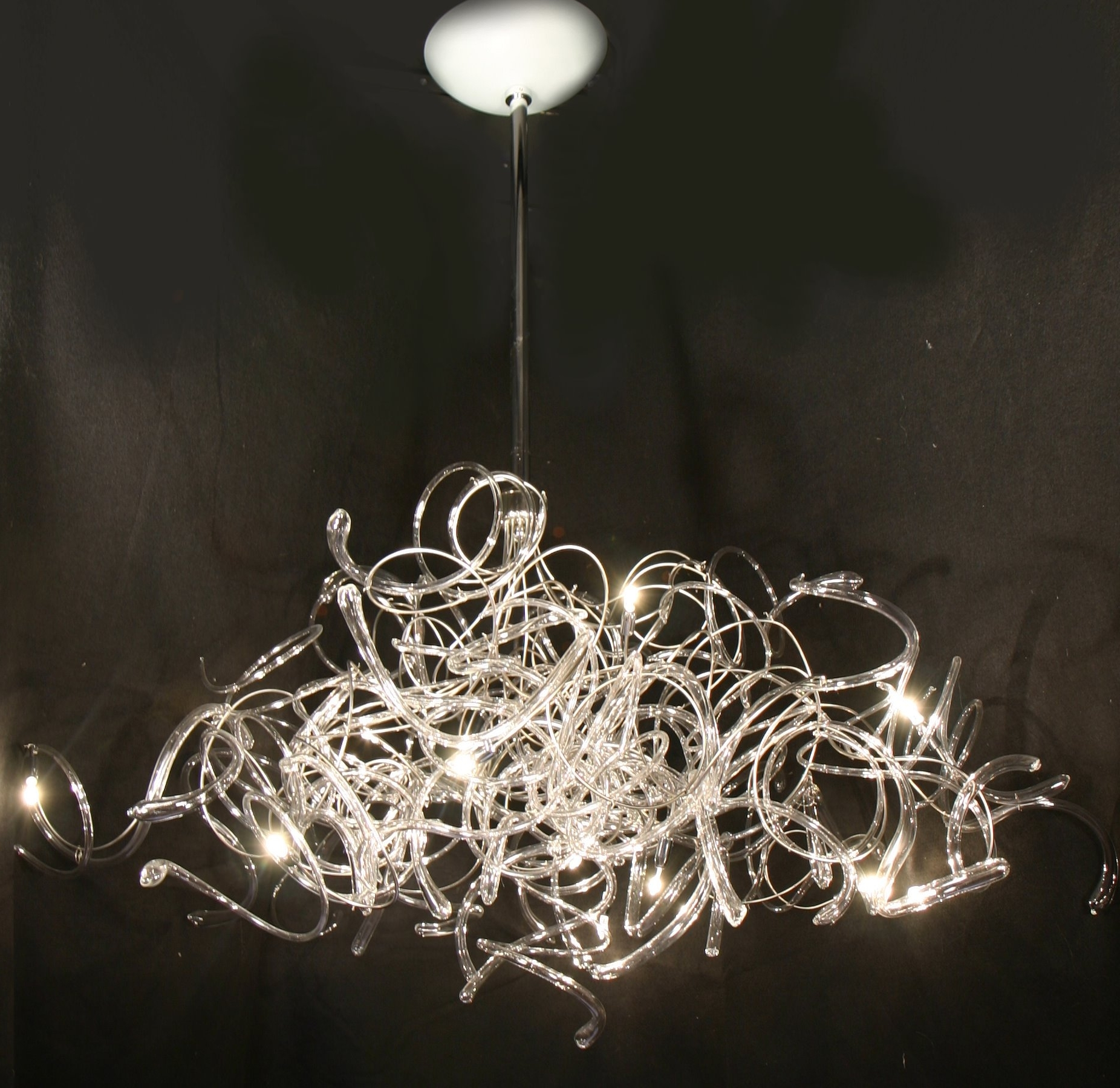Ultra Modern Chandelier Throughout Fashionable Ultra Modern Chandelier Lighting – Musethecollective (View 2 of 15)