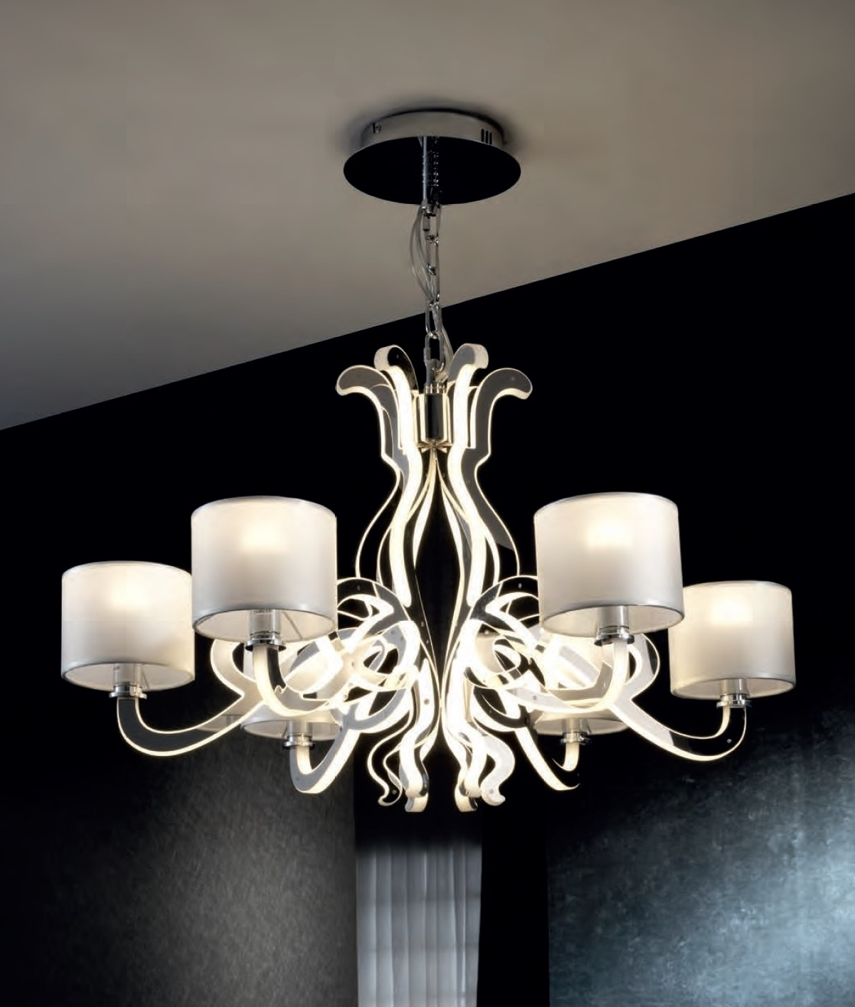 Ultra Modern Chandeliers (View 15 of 15)