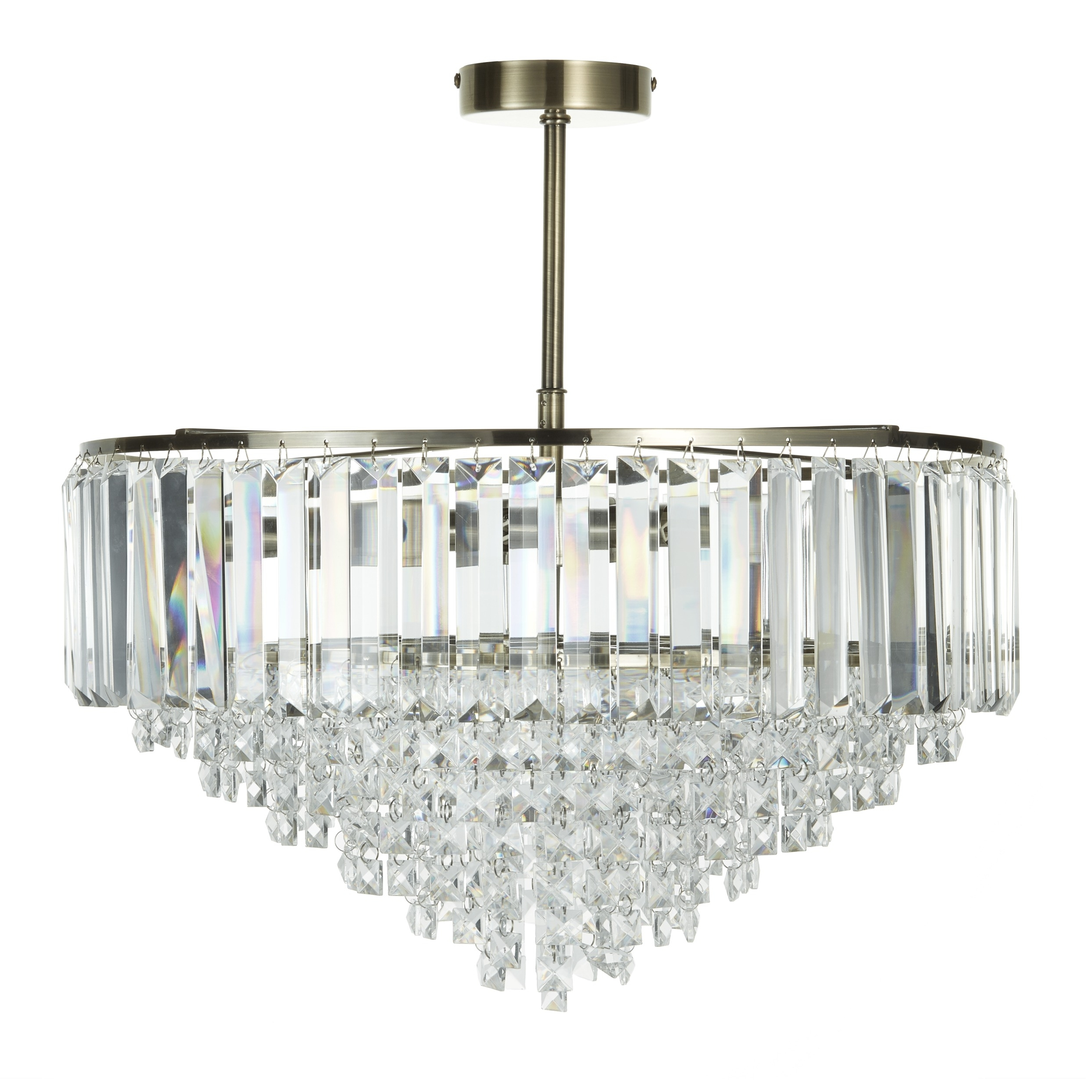 Vienna Crystal Chandeliers Intended For Widely Used Vienna Antique Brass Large Chandelier (View 13 of 15)