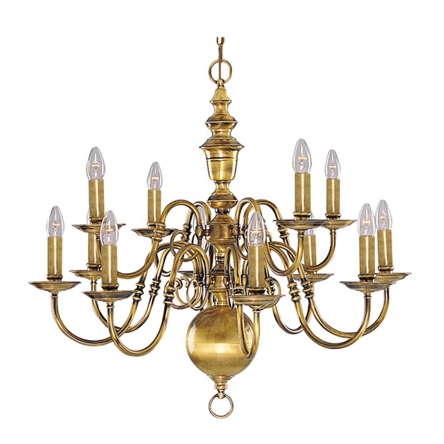 Vintage Brass Chandeliers Throughout Preferred Chandeliers Design : Wonderful Interesting Antique Brass Chandelier (View 7 of 15)