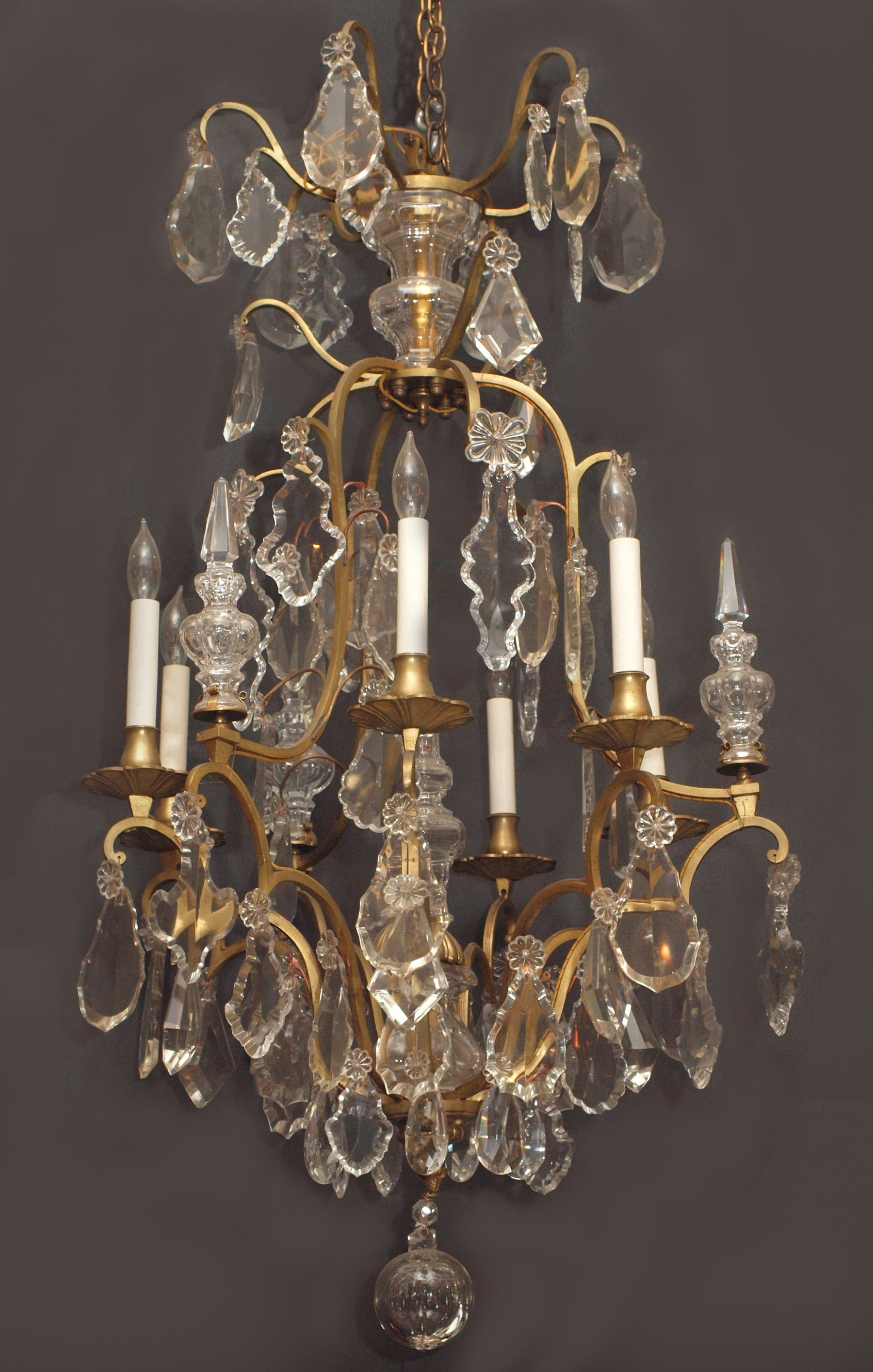 Vintage French Chandeliers in Most Recent Vintage French Chandelier - Chandelier Designs