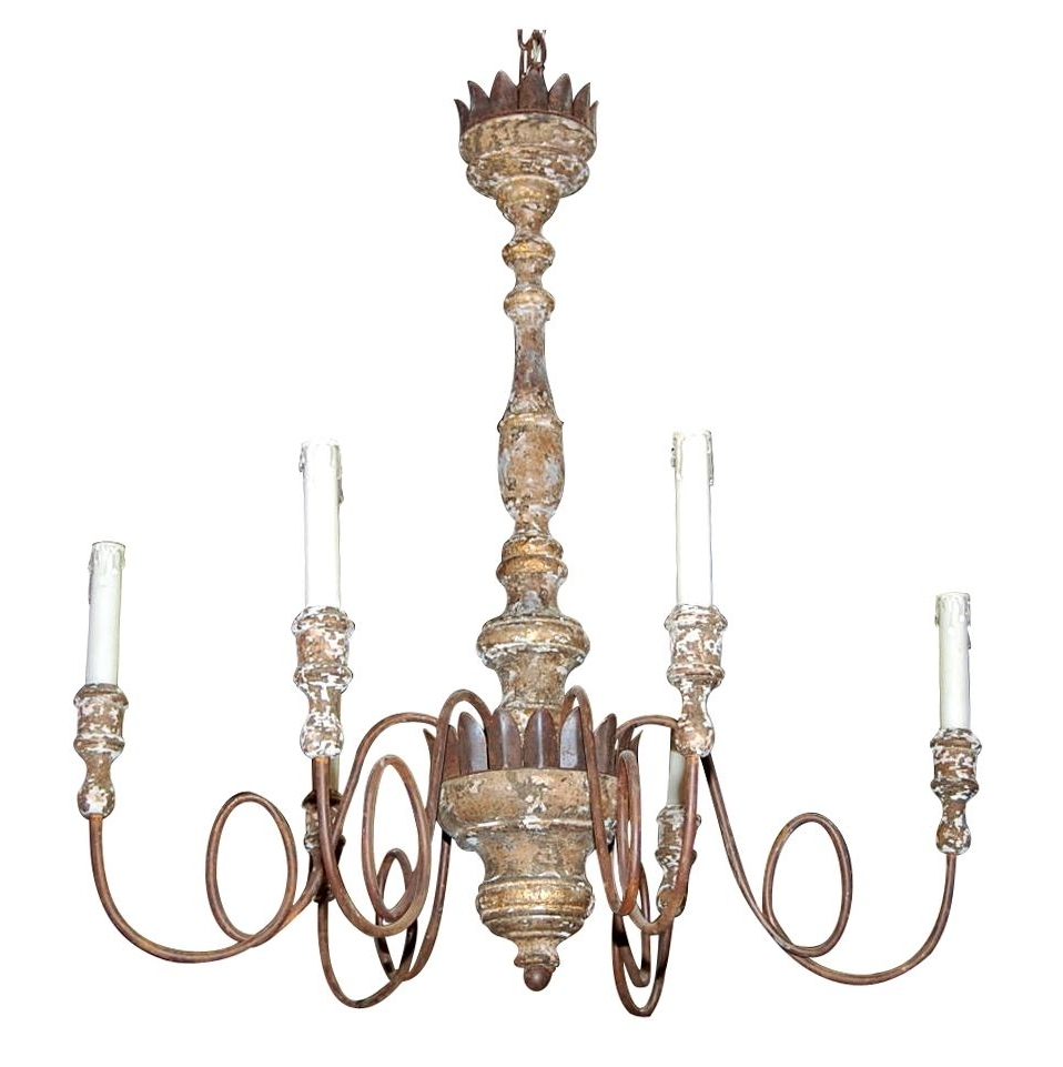 Vintage Italian Chandelier in Preferred Decorating Ideas: Astounding Picture Of Vintage White Iron Metal