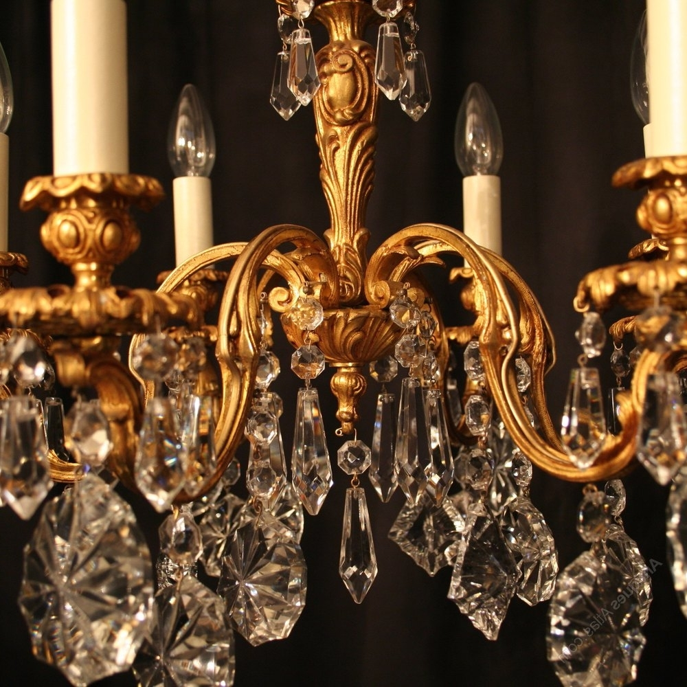 Vintage Italian Chandelier Intended For Most Recent Antique Italian Chandelier – Chandelier Designs (View 13 of 15)