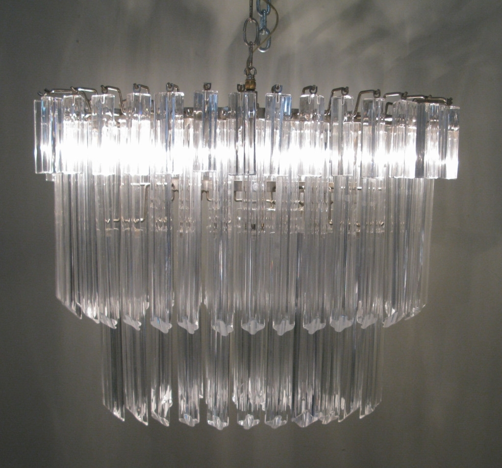Vintage Italian pertaining to Well-known Vintage Italian Chandeliers