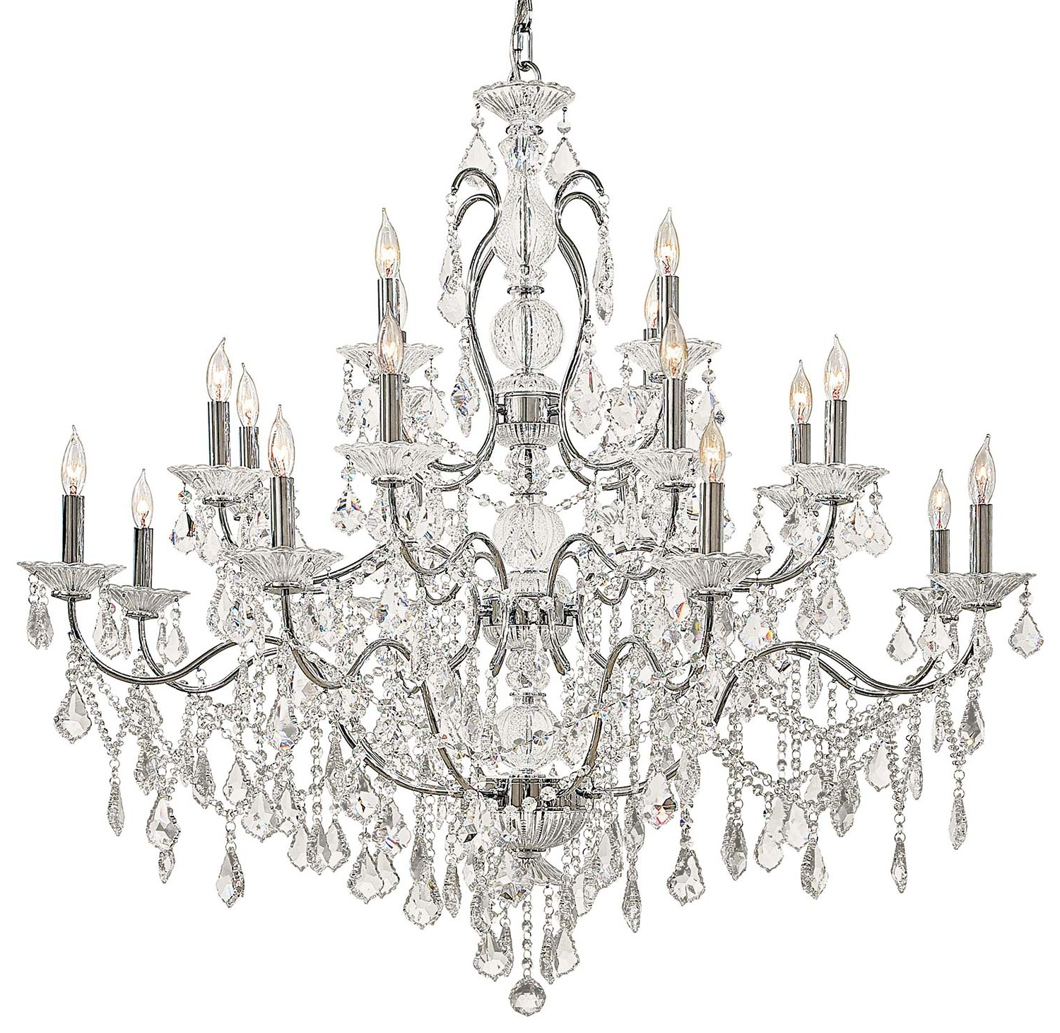 Vintage Style Chandeliers Pertaining To Current Light : Chandelier Crystals Vintage Php White Dining Crystal Room (Gallery 9 of 15)