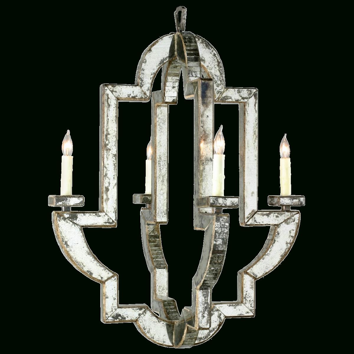 Viyet - Designer Furniture - Lighting - Niermann Weeks Monaco Chandelier with Current Mirrored Chandelier