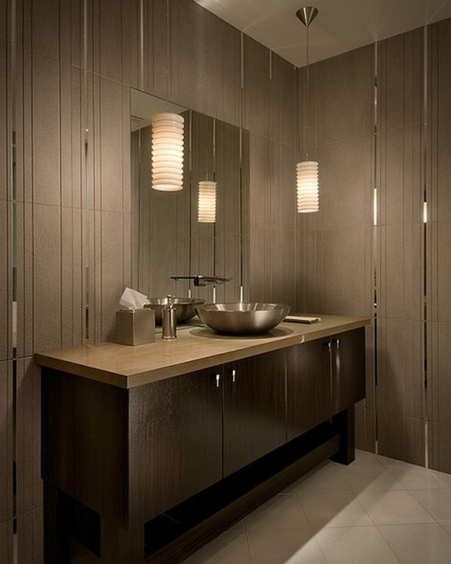 Wall Mounted Bathroom Chandeliers For Most Popular Ceiling Lighting Ideas Long Bathroom Vanity Lights Small Toilet (View 11 of 15)