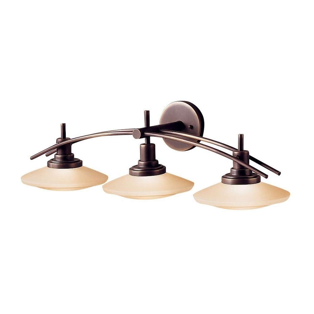 Wall Mounted Bathroom Chandeliers Inside Best And Newest Kichler 6162Ni Two Light Bath – Vanity Lighting Fixtures – Amazon (View 13 of 15)