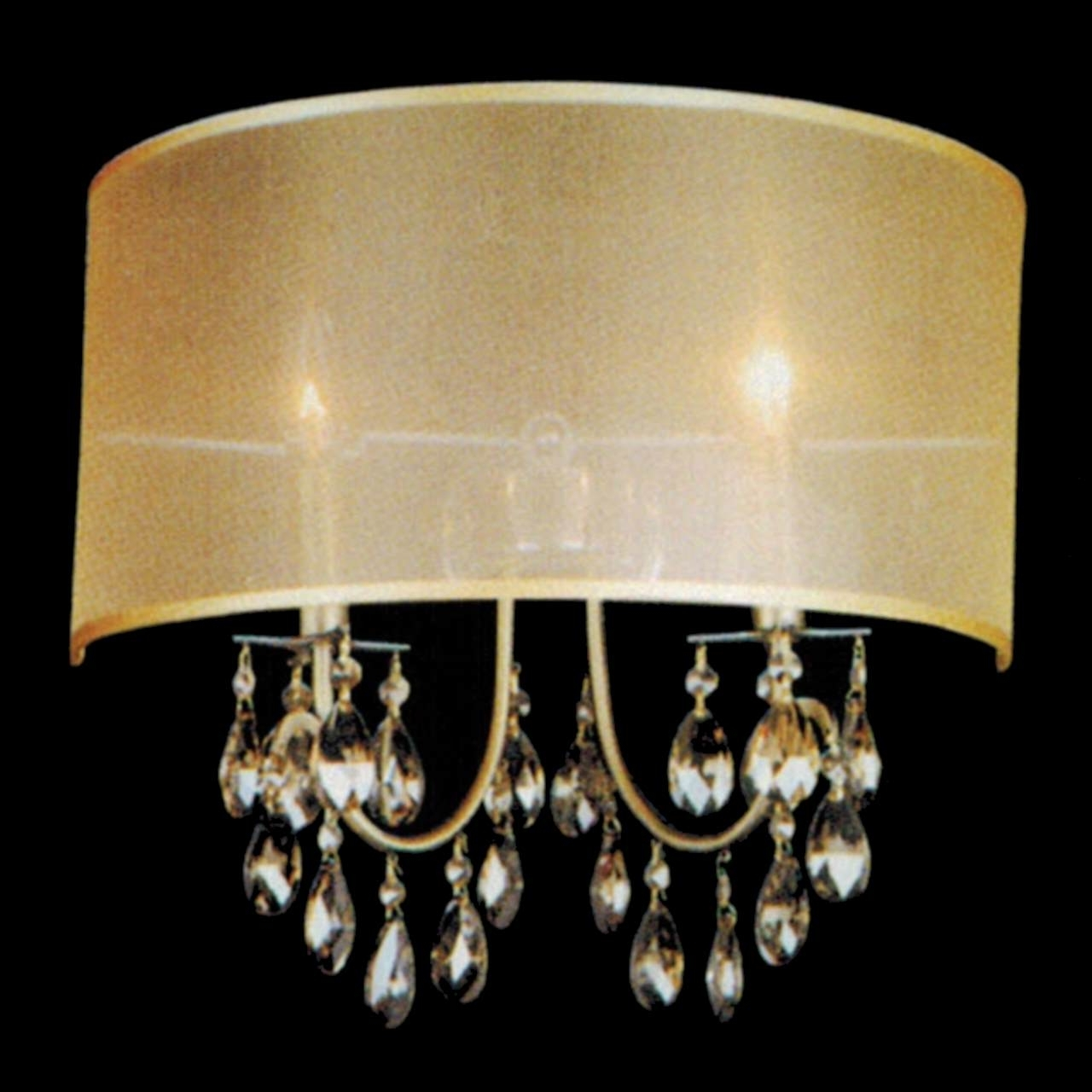 Wall Mounted Mini Chandeliers Inside Most Recently Released Light Fixture : Crystal Led Lighting Mini Chandelier Amazon Real (View 5 of 15)
