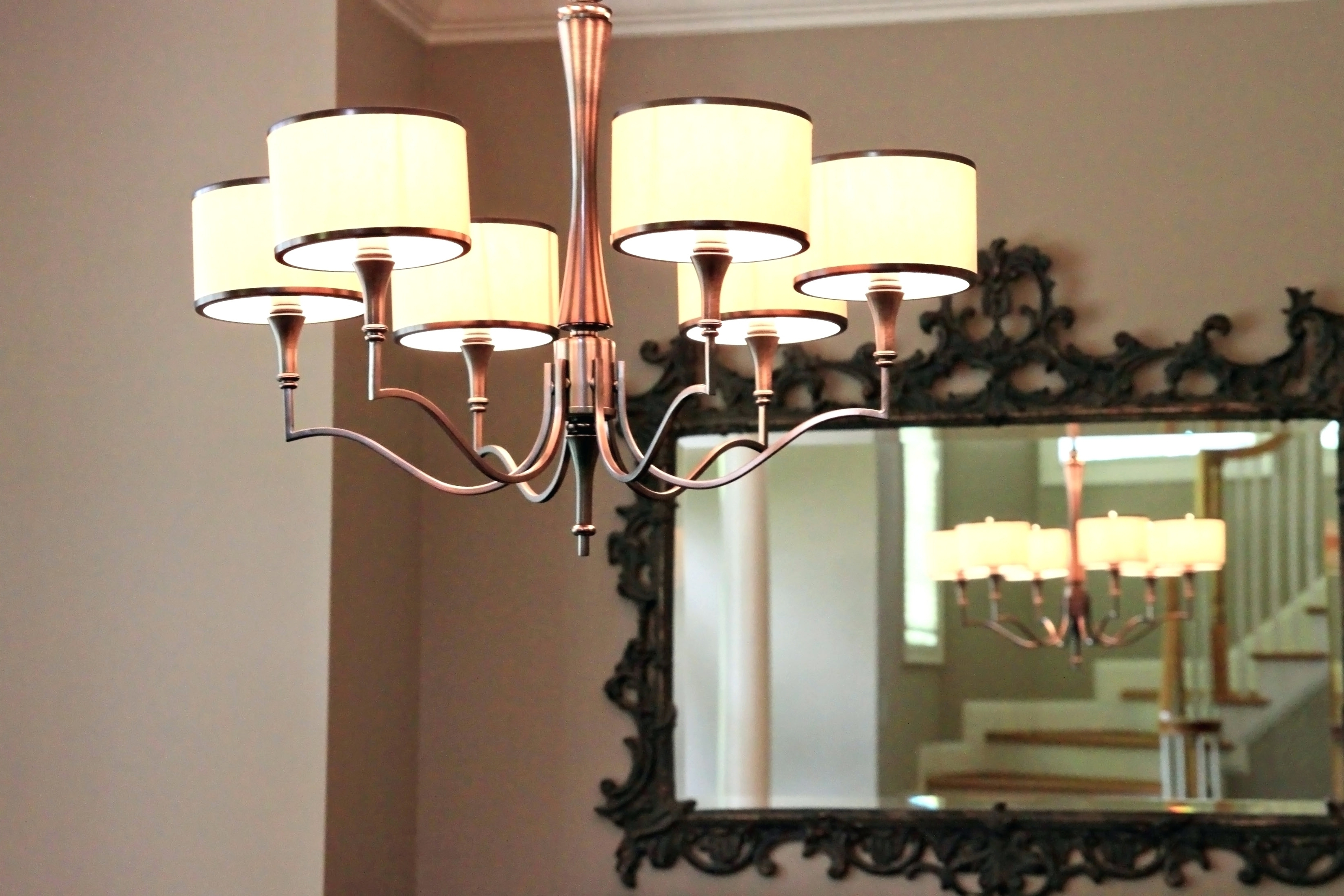 Wall Mounted Mini Chandeliers Pertaining To Most Recently Released Chandeliers ~ Wall Mounted Candle Chandelier Dining Room Dining Room (View 15 of 15)