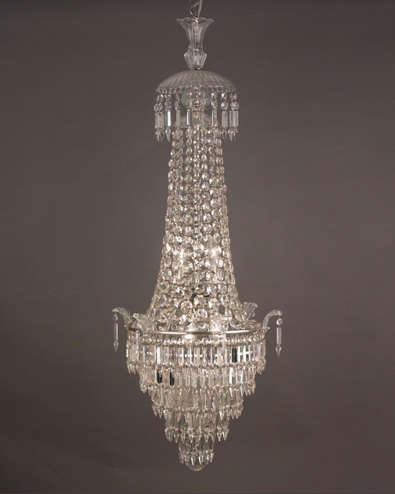 Waterfall Crystal Chandelier In Popular Waterfall And Bag Bohemian Crystal Chandelier, Antique Lighting (View 3 of 15)