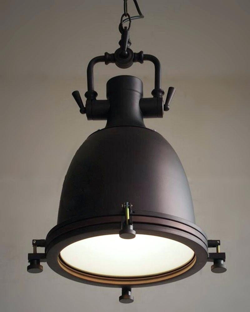Well Known 35 Creative Lavish Large Vintage Industrial Pendant Lighting Lights With Retro Chandeliers (View 14 of 15)