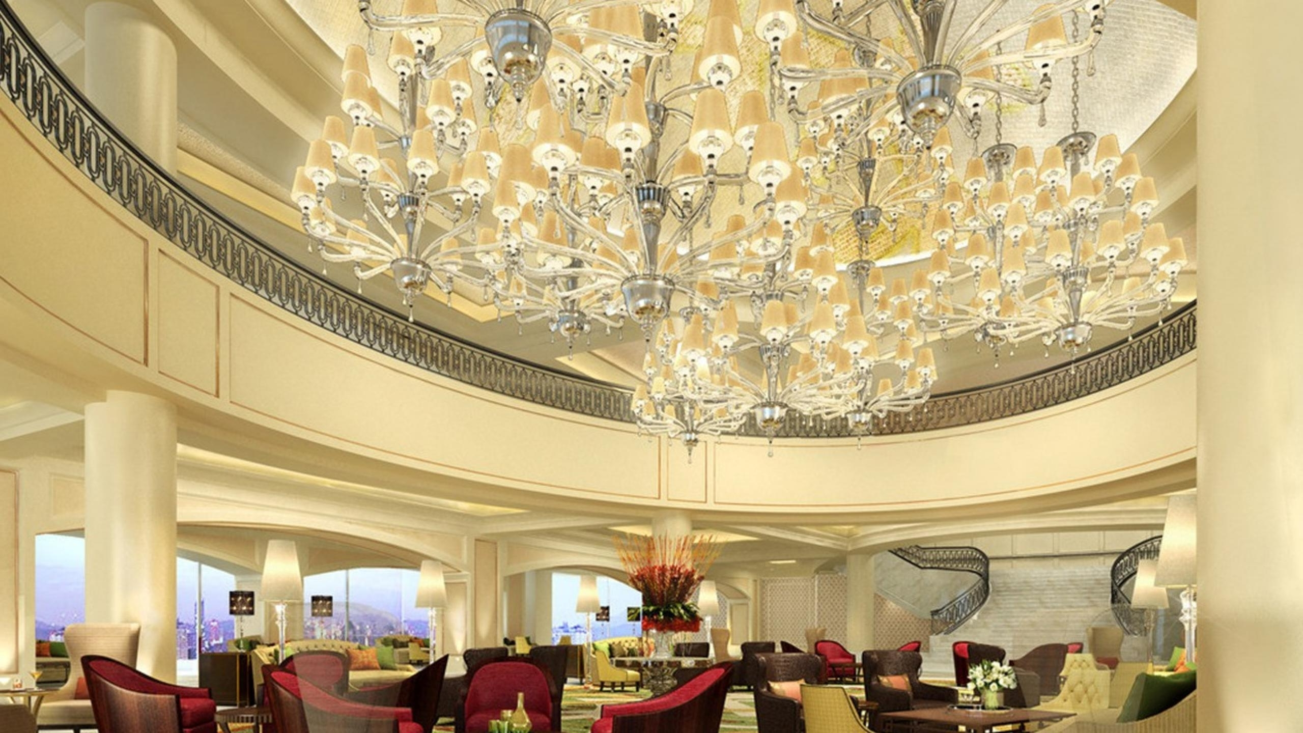 Well Known Beautiful Chandeliers For A Hotel Design Intended For Hotel Chandelier (View 4 of 15)
