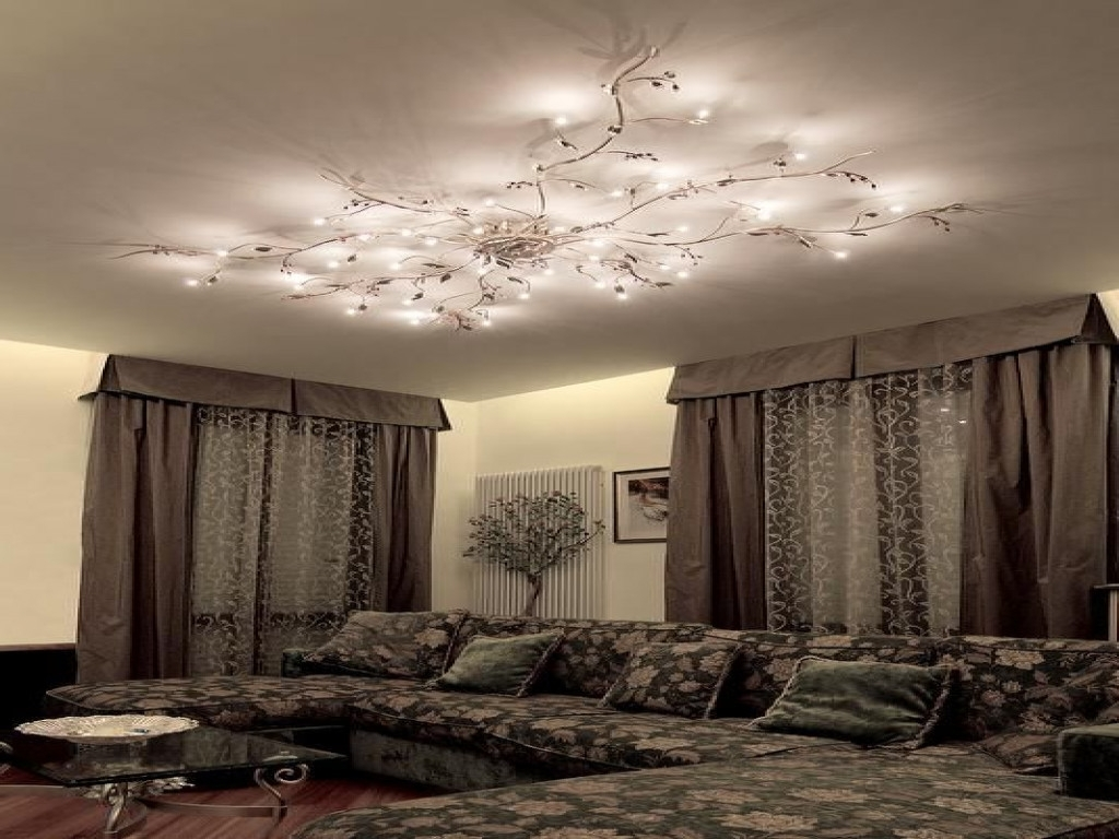 Well Known Ceiling : Chandeliers For Tall Ceilings Living Room Lighting Ideas Throughout Low Ceiling Chandelier (View 4 of 15)
