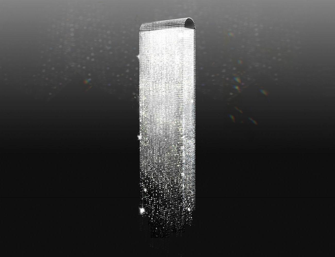 Well Known Chandeliers : Swarovski Crystal Waterfallandelier Light Inrome Round Inside Waterfall Crystal Chandelier (View 7 of 15)