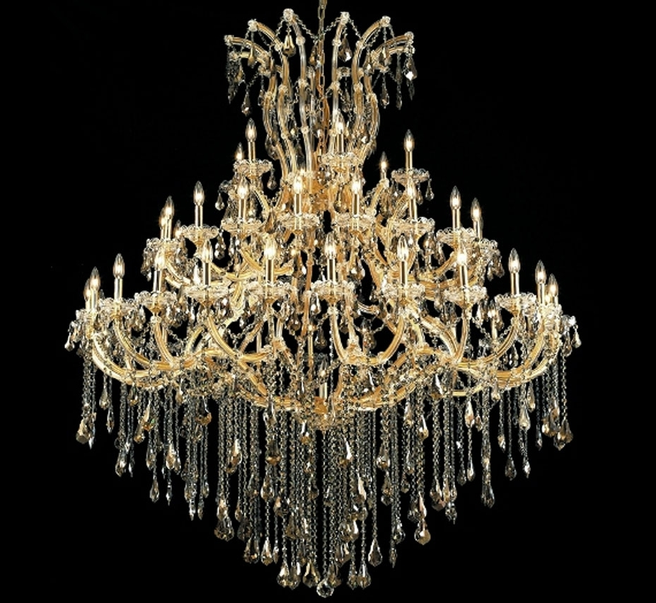 Well Known Extra Large Crystal Chandeliers With Maria Theresa Collection 49 Light Extra Large Crystal Chandelier (View 9 of 15)