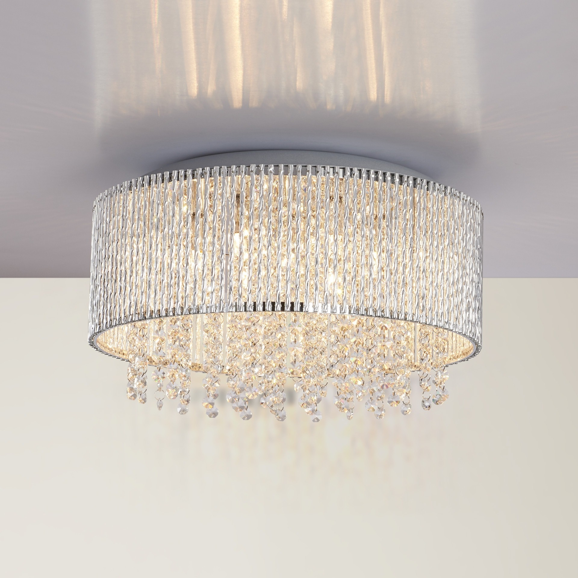Well Known Flush Chandelier For Chandeliers Design : Wonderful Trend Flush Chandelier For Small Home (View 5 of 15)