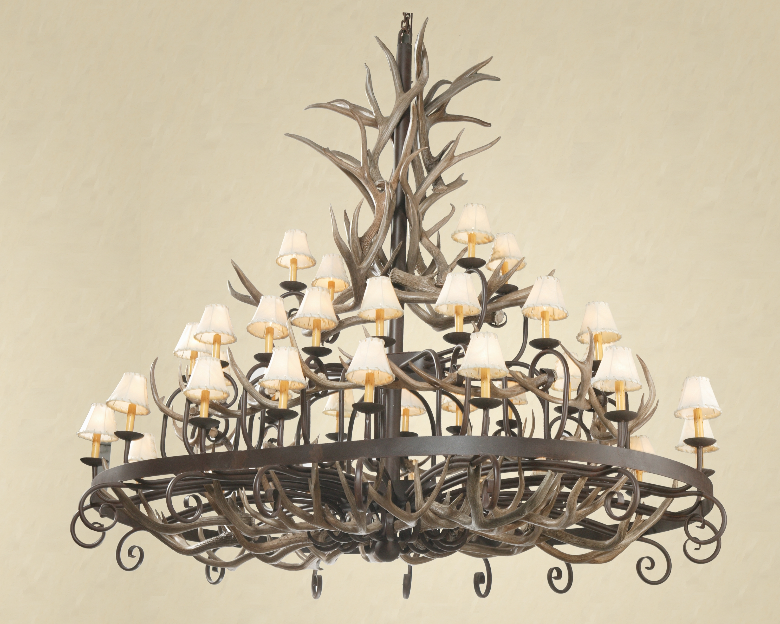 Well Known How To Clean An Antler Chandelier Inside Modern Antler Chandelier (View 11 of 15)