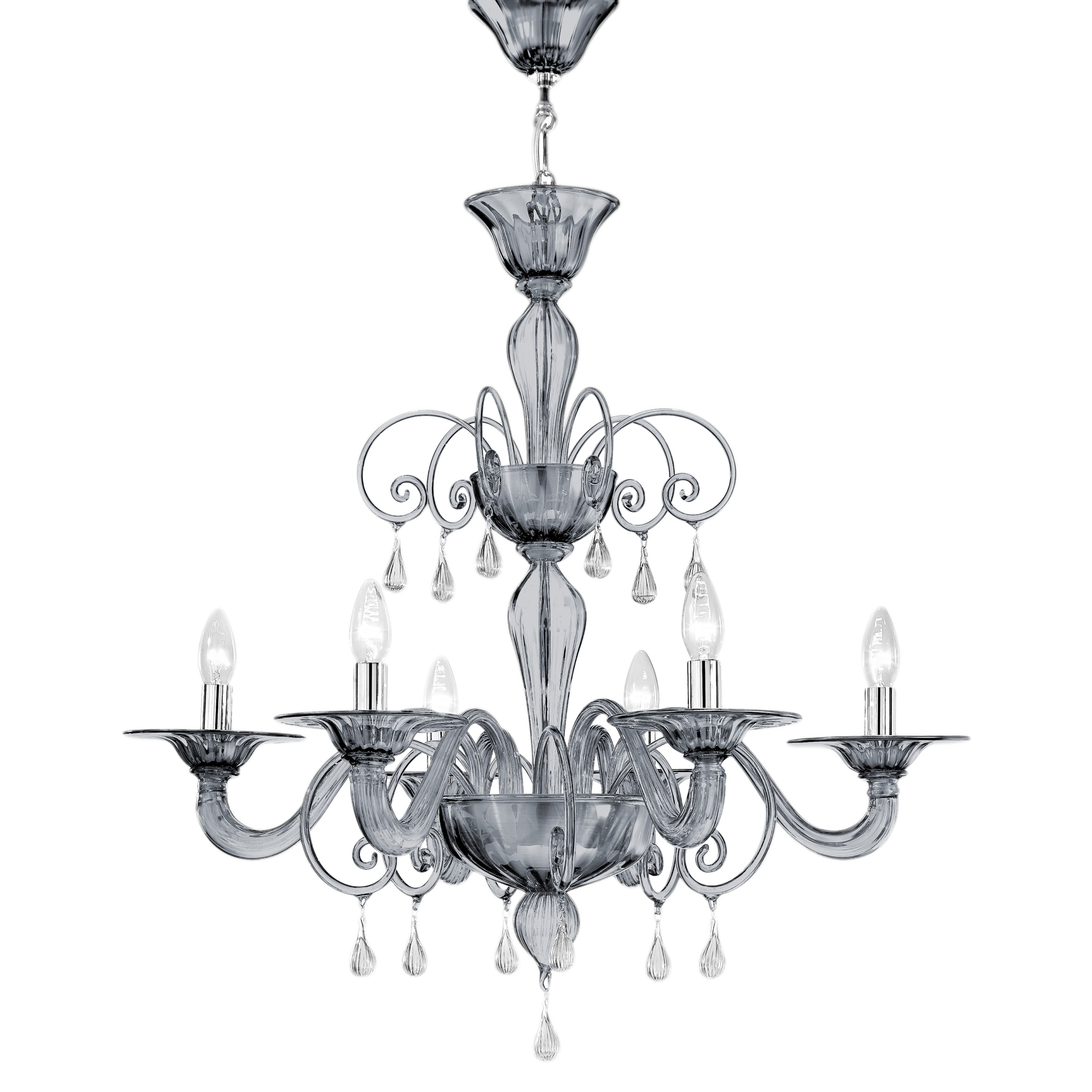Well Known Jasmine – Villaverde London Pertaining To Murano Chandelier (View 5 of 15)