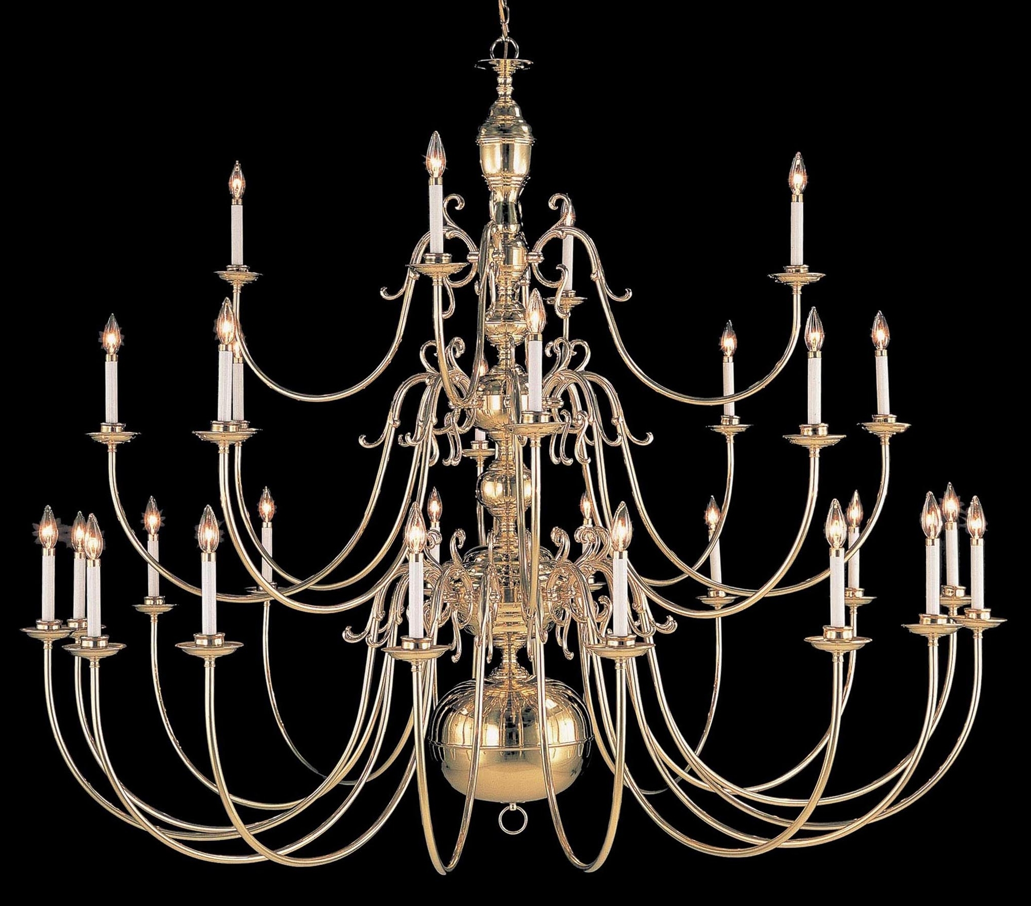 Well Known Largelighting – Brass/bronze Chandeliers Throughout Large Brass Chandelier (View 14 of 15)
