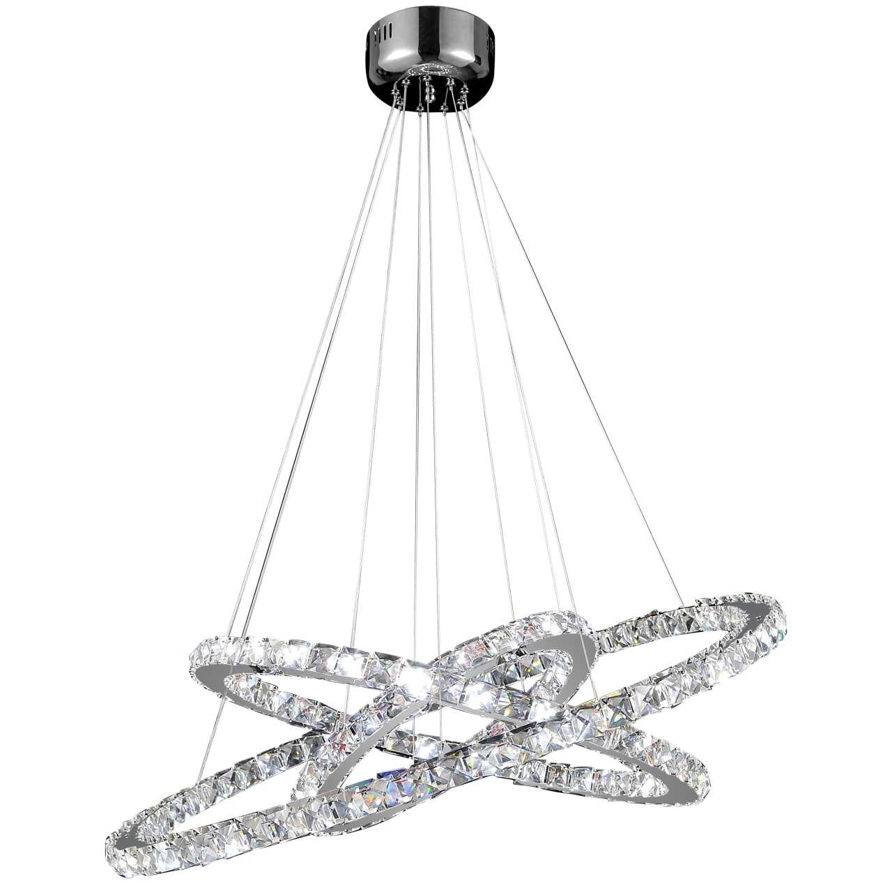 Well Known Modern Chrome Chandeliers Inside Brizzo Lighting Stores (View 15 of 15)