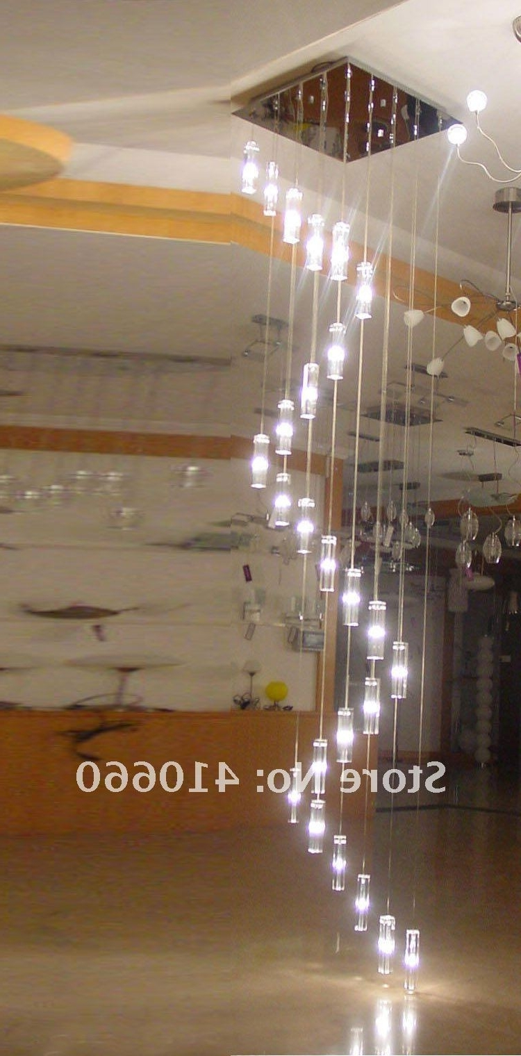 Well Known Modern Hanging Chandelier Staircase Crystal Spiral Chandelier For Staircase Chandeliers (View 3 of 15)