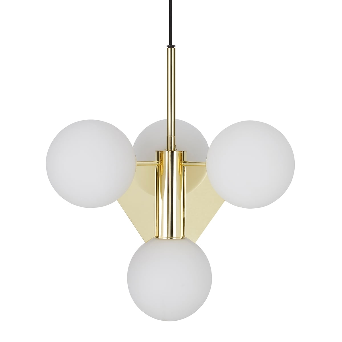 Well Known Plane Short Chandeliertom Dixon Within Short Chandelier Lights (View 7 of 15)