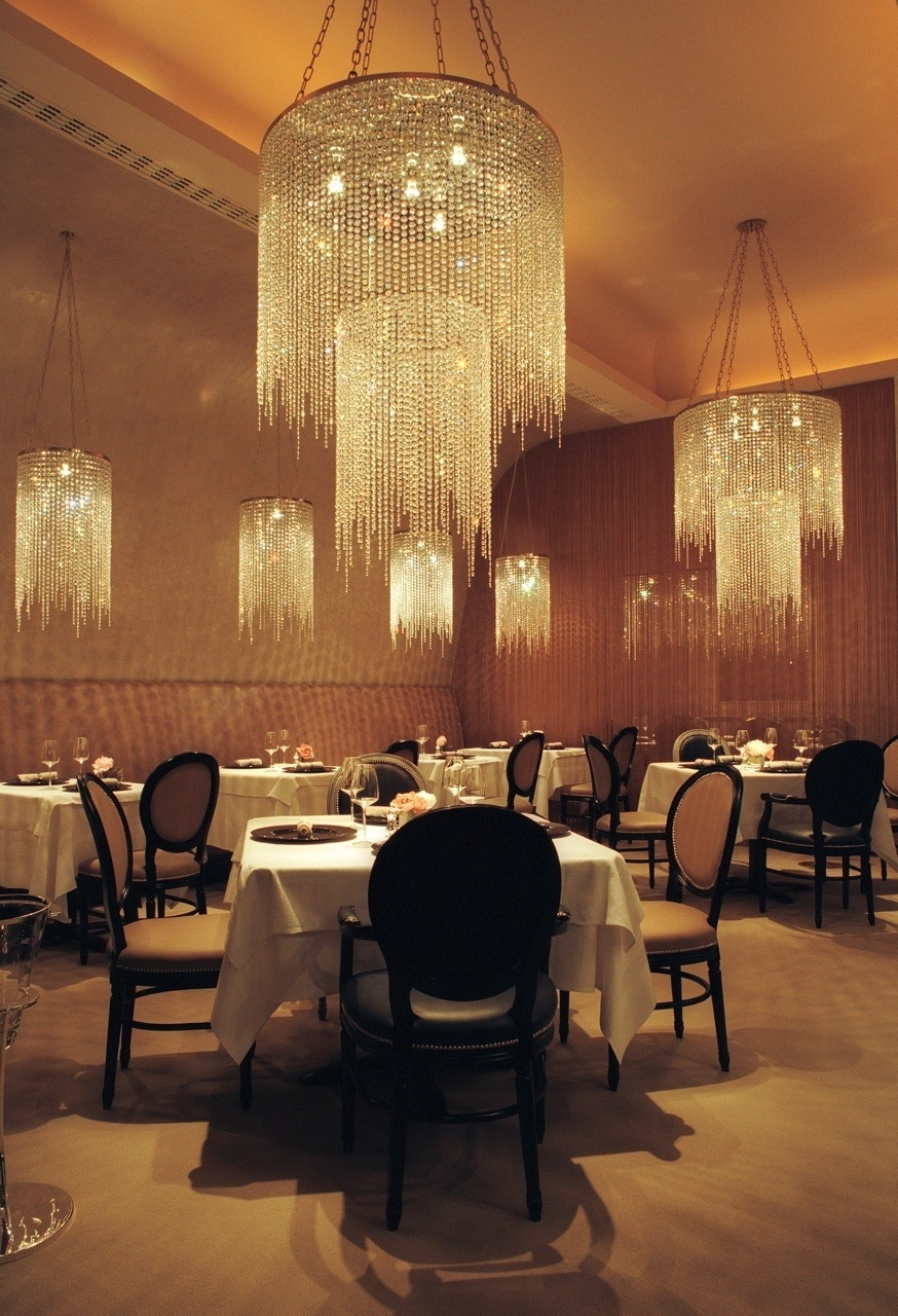 Well Known Restaurant Chandelier Inside Chandelier Restaurant For Home Decor Arrangement Ideas With (View 13 of 15)