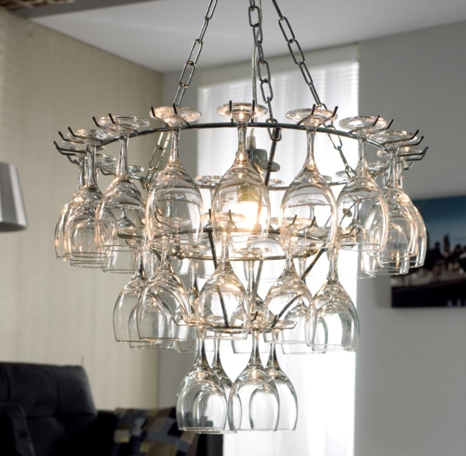 Well Known Simple Glass Chandelier Regarding Creative Glass Chandelier Design For Decorating Your Home Simple (View 2 of 15)