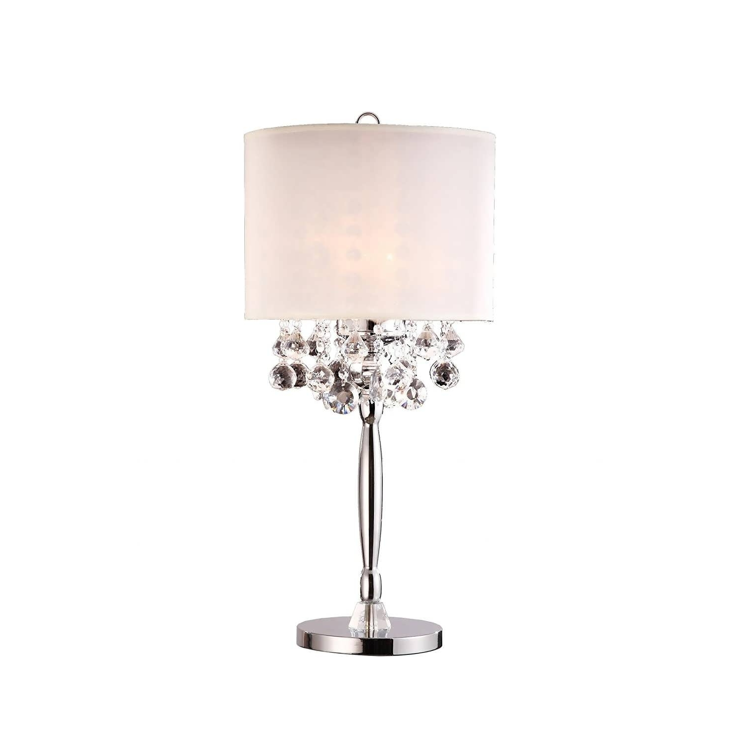 Well Known Small Crystal Chandelier Table Lamps Inside Chandelier : Ceiling Light Fixture Small Table Lamps Crystal (View 14 of 15)