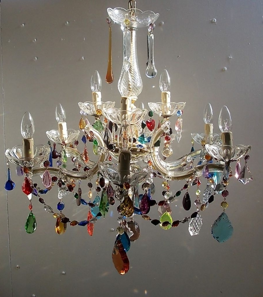 Well Known Small Gypsy Chandeliers Pertaining To Pendant Lights ~ Chandelier : Chandeliers Coral Colored Chandelier (View 15 of 15)